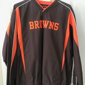 NFL Browns Pull Over